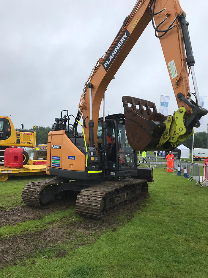 Flannery machine on display at Plantworx
