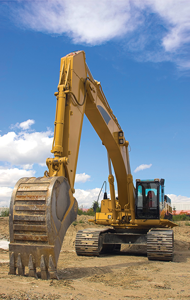 Height limiter on an excavator.jpg